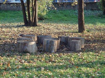 FOTKA - jeseň v parku.