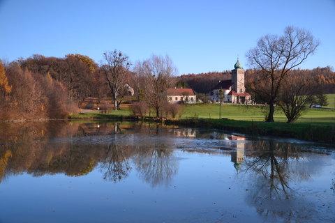 FOTKA -  idyla u rybníka