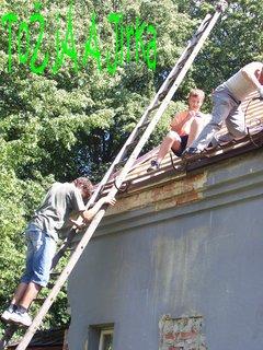 FOTKA - Práce na nové střeše