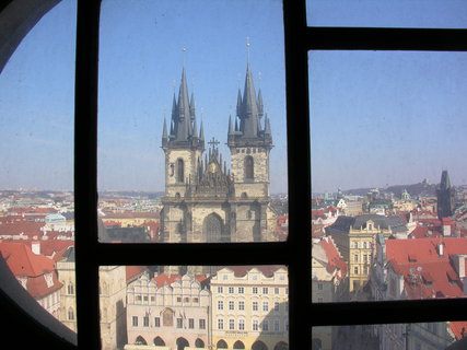 FOTKA - ze Staroměstské radnice, cestou na věž