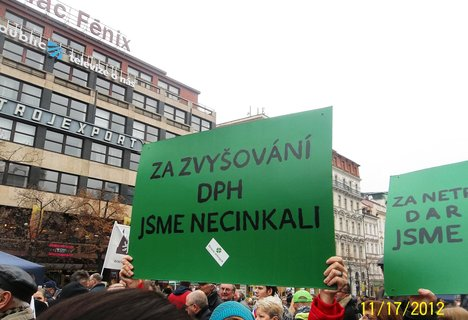 FOTKA - Praha 17.11na Václaváku
