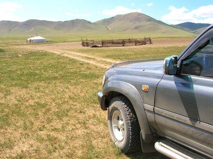 FOTKA - Mongolsko, cesta do Charkorinu 3
