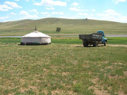 FOTKA - Mongolsko, cesta do Charkorinu 4
