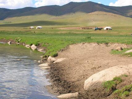 FOTKA - Mongolsko, cesta do Charkorinu 6