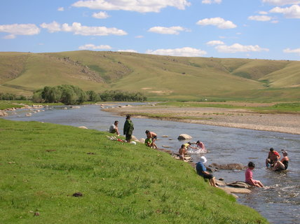 FOTKA - Mongolsko, cesta do Charkorinu 7