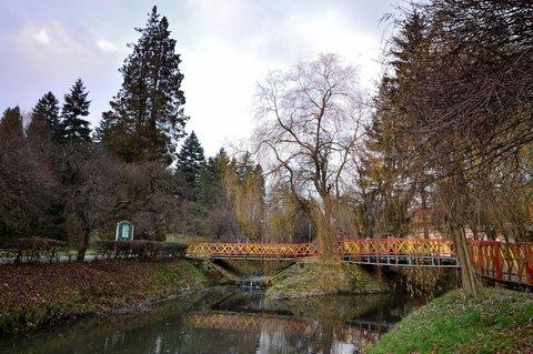 FOTKA - Klídek v lázeňském parku