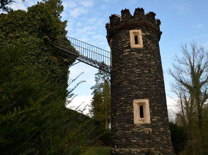 FOTKA - Vyhlídkový ochoz Velké věže je přístupný pouze z příznivého počasí
