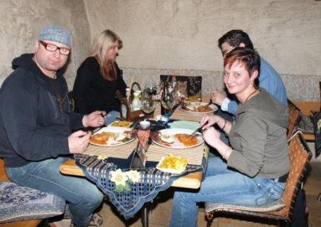 FOTKA - večeře s Jirkem Zonygou
