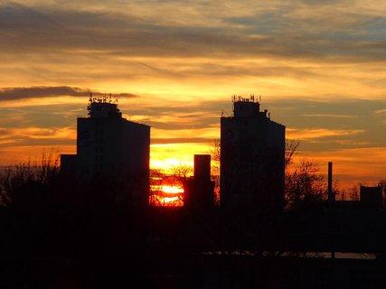FOTKA - slnko vychádza