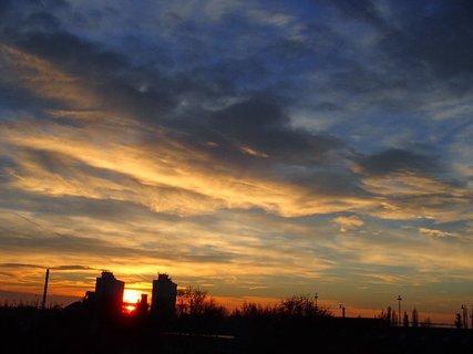 FOTKA - slnko vychádza.