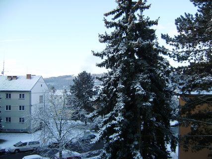 FOTKA - dnešní ráno z balkonu