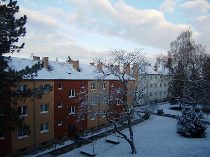 FOTKA - dnešní ráno z balkonu 3