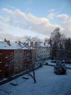 FOTKA - dnešní ráno z balkonu 4