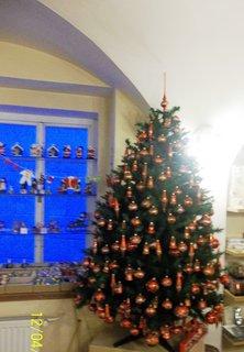 FOTKA - Vizovice, prodejní výstava vánočních ozdob.