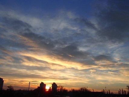 FOTKA - východ slnka....