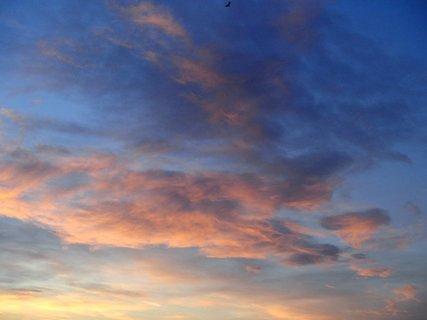FOTKA - obloha v ružovom