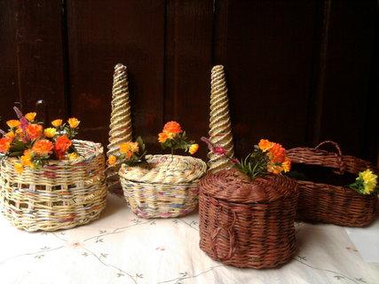 FOTKA - Papírové pletení