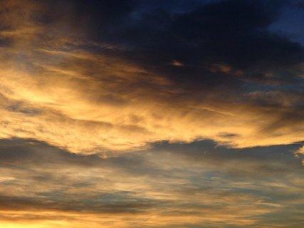 FOTKA - tmavé farby oblohy