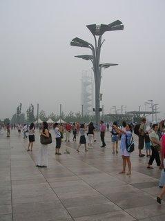 FOTKA - Čína, Peking, OH, smog 33