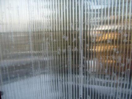 FOTKA - námraza na balkoně