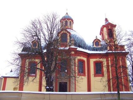 FOTKA - 13.12.2012, Kostel Sv. Jakuba, Kunratice