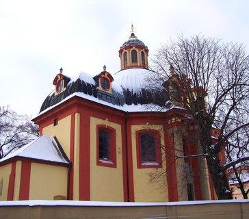 FOTKA - 13.12.2012, kostel, Kunratice