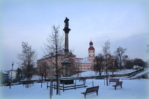 FOTKA - Náměstí v prosinci
