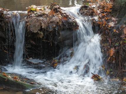FOTKA - u potoka...z podzimního toulání