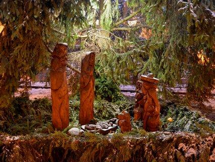 FOTKA - Betlém pod Pardubickým vánočním stromem