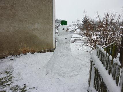 FOTKA - dnes....sněhulák
