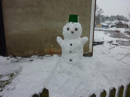FOTKA - sněhulák 2