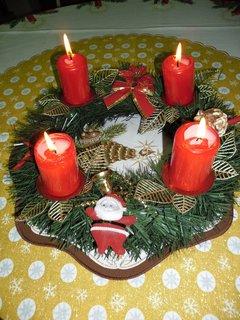 FOTKA - 4 svíčky zapálené