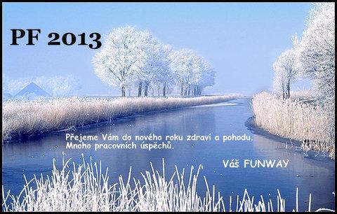 FOTKA - PF 2013! Přejeme Vám úspěšný rok 2013!