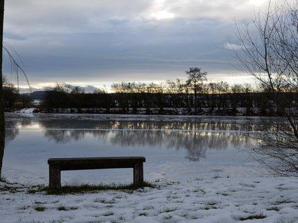FOTKA - Prosincová procházka kolem rybníka