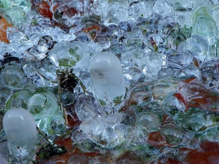FOTKA - Ledové útvary -každý si ho nazve podle své fantazie