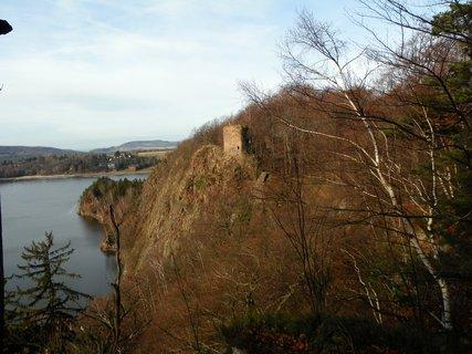 FOTKA - Prosincová zřícenina hradu Oheb