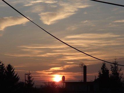 FOTKA - včerajší západ slnka