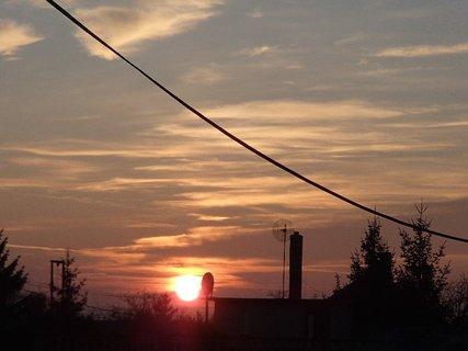 FOTKA - včerajší západ slnka..