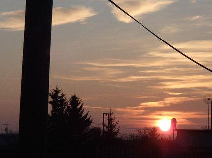 FOTKA - včerajší západ slnka...