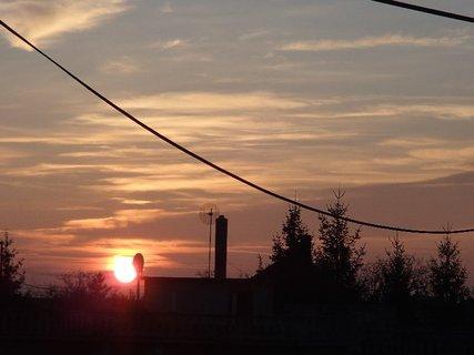 FOTKA - včerajší západ slnka....