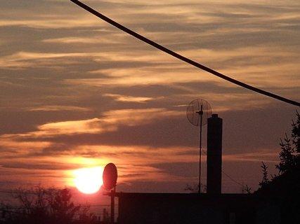 FOTKA - včerajší západ slnka.....