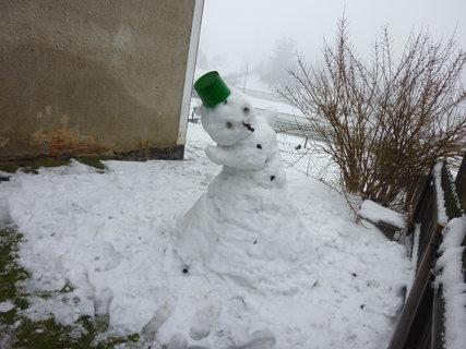 FOTKA - chudáčci sněhuláci