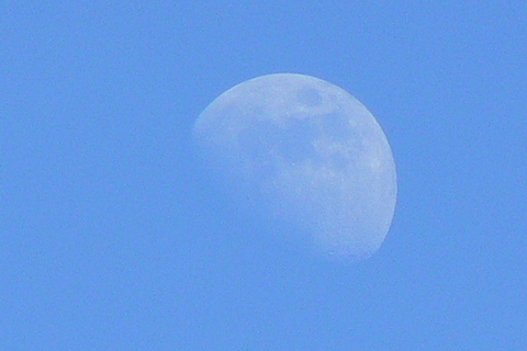 FOTKA - měsíc ve dne
