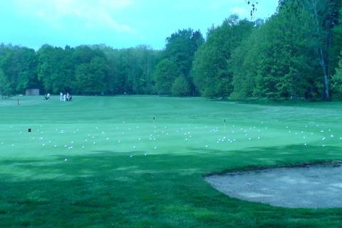 FOTKA - golfový tréning