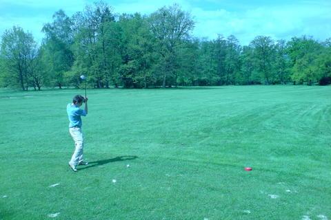 FOTKA - malý golfista