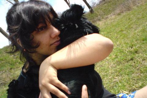 FOTKA - to jsem ja s dalším miláčkem..