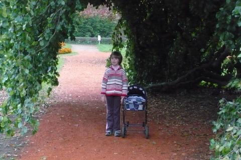 FOTKA - Sabča v zámecké zahradě