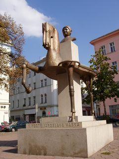 FOTKA - Pomník Jar.Haška, Praha-Žižkov