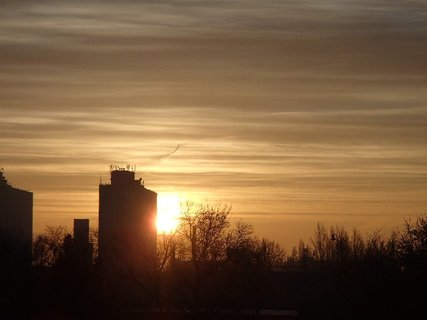 FOTKA - východ slnka 04.01.2013