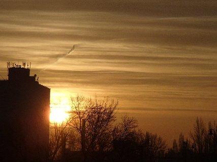 FOTKA - východ slnka 04.01.2013a